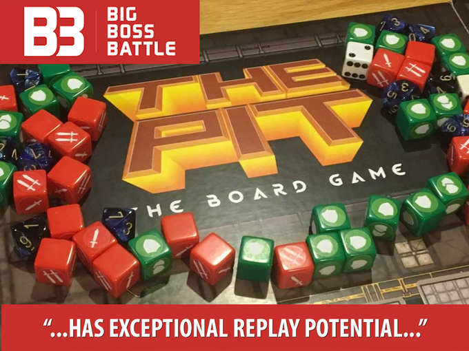 Big Boss Battle Previews The Pit Board Game!