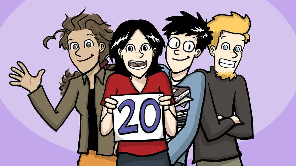 PHD Comics 20th Anniversary Book Collection project video thumbnail