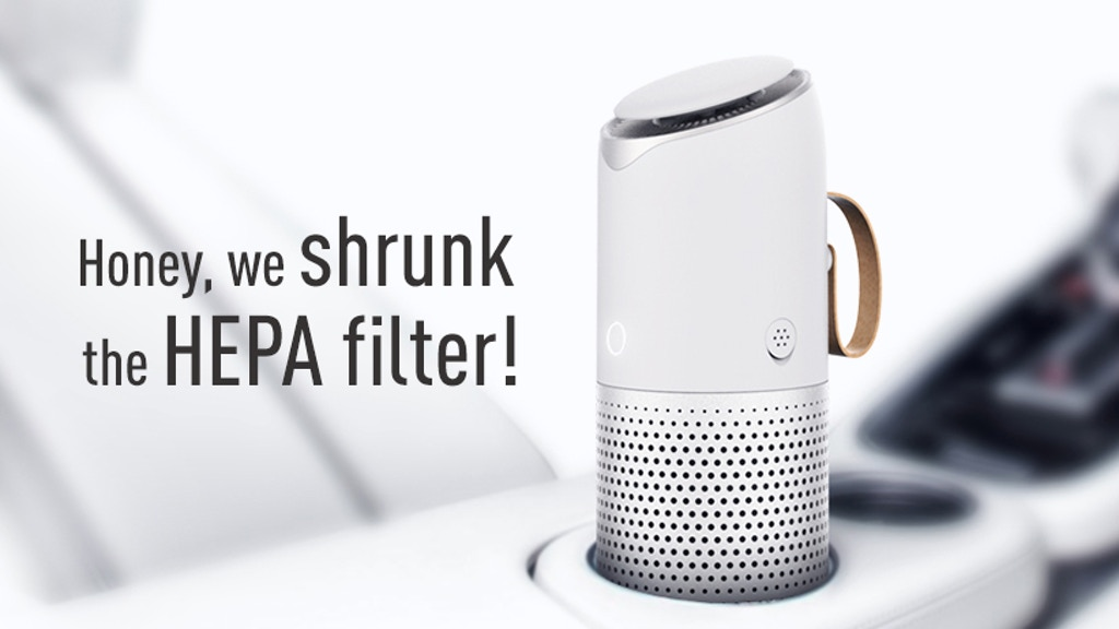 Futurous Air Purifier: Tiny Powerful Filter + Great Smell