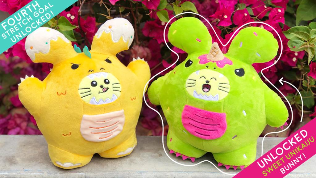 Kaiju Bunny Plush by Fat Rabbit Farm project video thumbnail