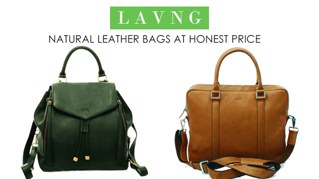 High Grade, Eco-Friendly and Ethically made leather goods project video thumbnail
