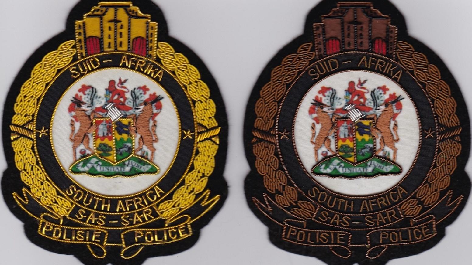 S A R P Bullion Blazer Badges & Memorabilia by Frans J