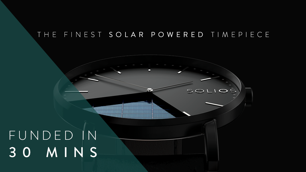 The Finest Solar Powered and Sustainable Watch project video thumbnail