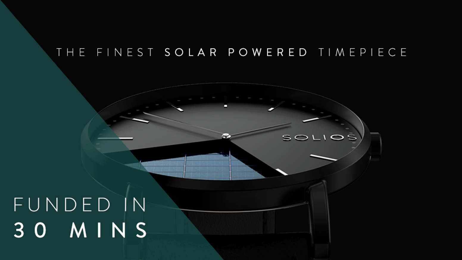 Innovative and sustainable solar powered timepiece, without having to sacrifice on elegant design, affordable price or durable quality.