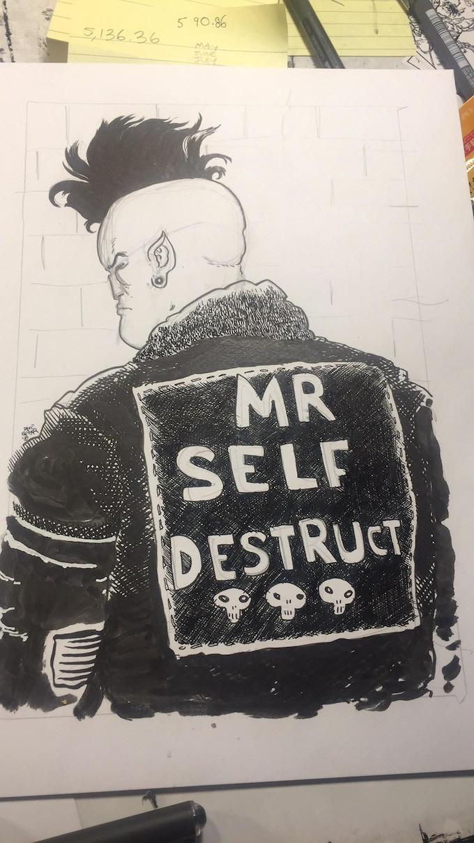 Mr. Self Destruct by Dave Baker