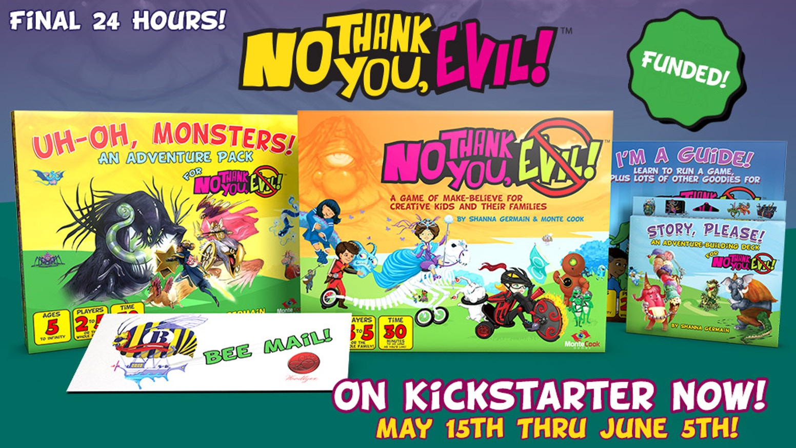 No Thank You, Evil! - A Game So Nice We\'re Making it Twice by Monte ...