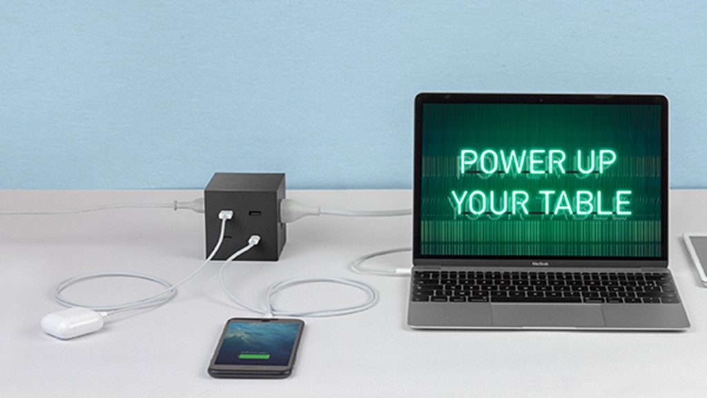 ICON Genius | Organize your space with the Charging Cube project video thumbnail