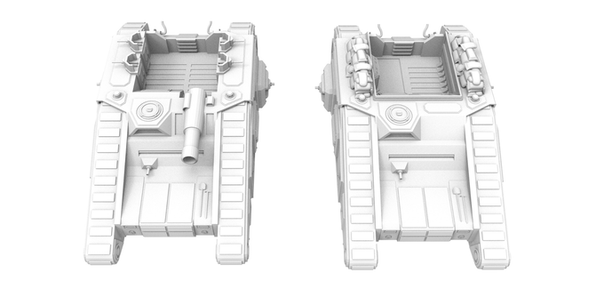 SPG Troop Carrier, Command Tank