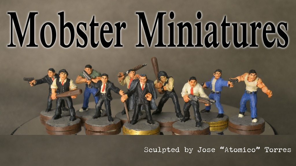 Mobster Miniatures project video thumbnail