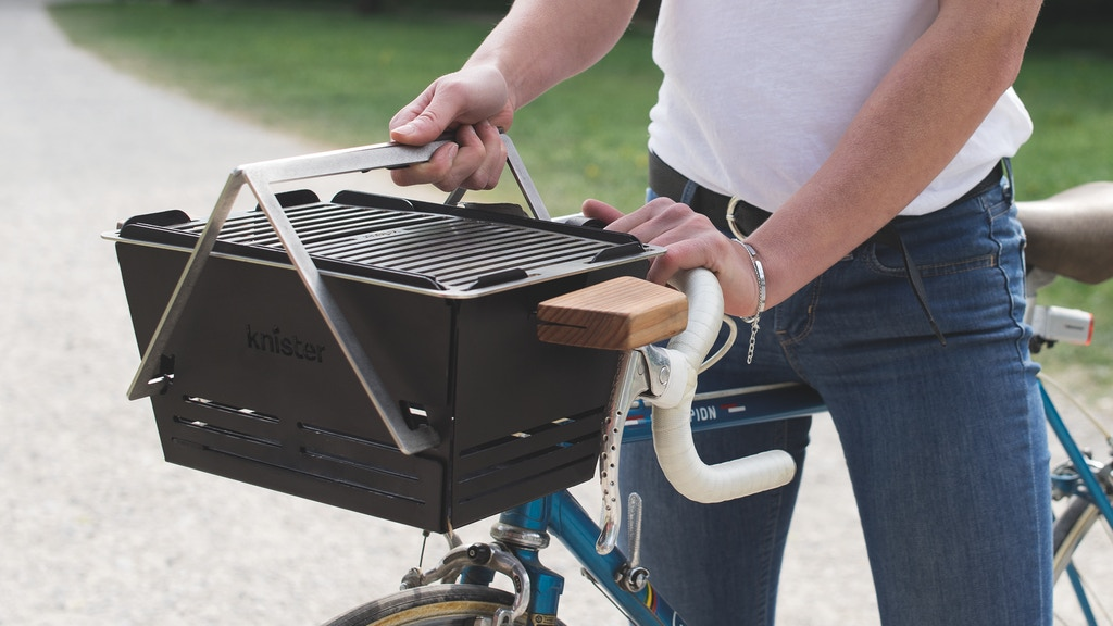Knister Grill - The extendable BBQ you can transport by bike project video thumbnail