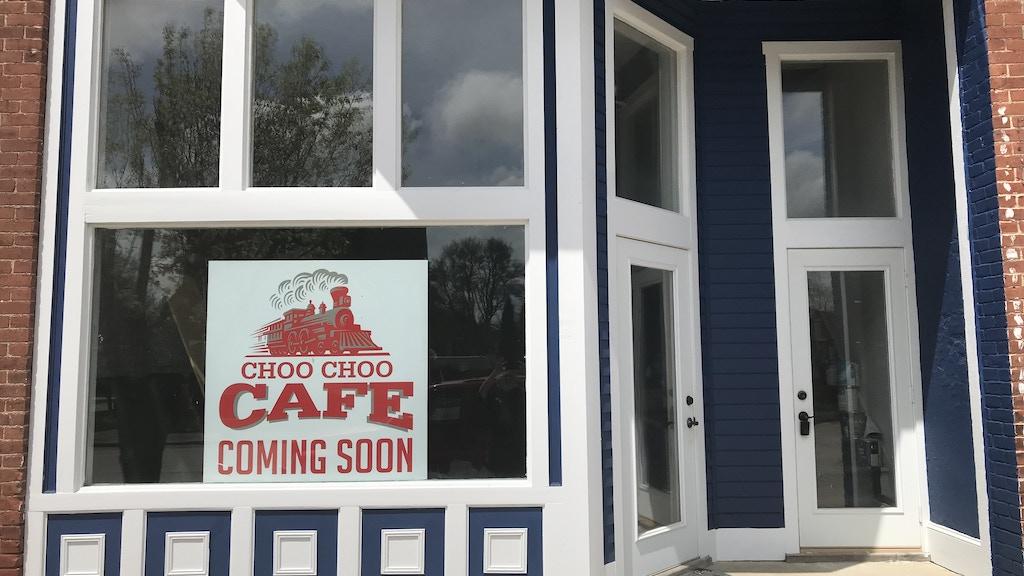 The Choo Choo Cafe, Atlanta, Indiana, with MrMuffin'sTrains