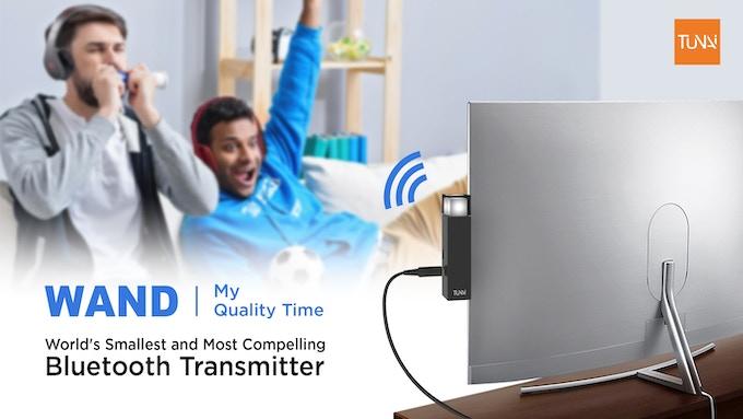 BackIt com - TUNAI WAND -The Bluetooth Transmitter for Home