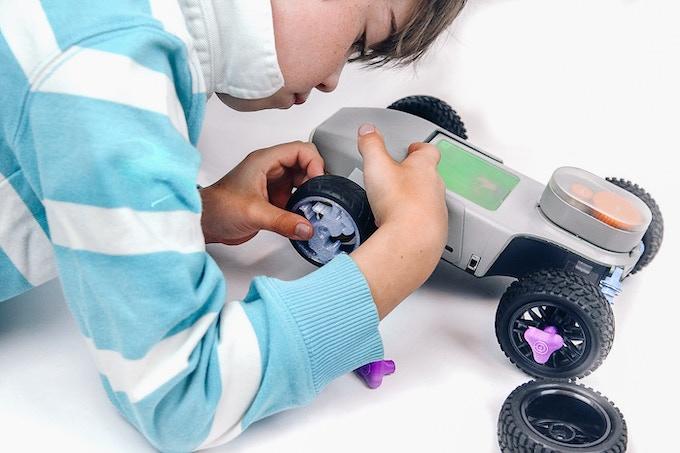 3D-printed unicorn wheels make everything more fun!
