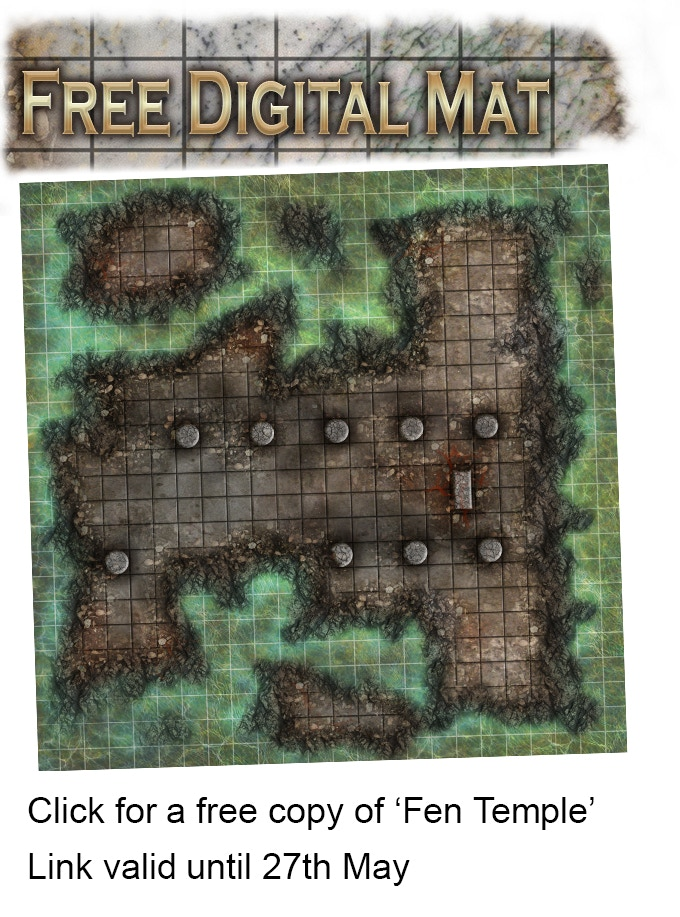 Battle Mat Books For Fantasy And Sci Fi Tabletop Rpg Games