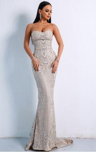 Maria Elegant Grey Dress (value $169.99)