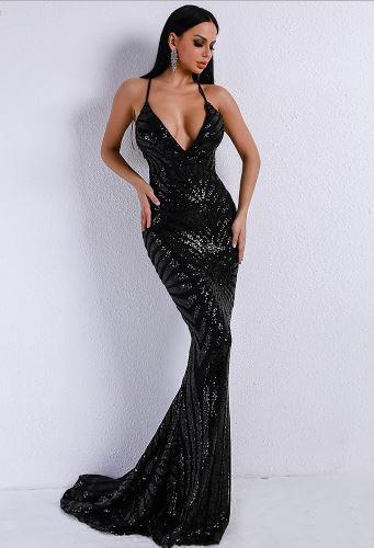 Jessica Elegant Black Dress (value $199.99)