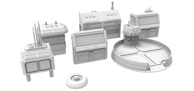 Technical Equipment and Control Platform