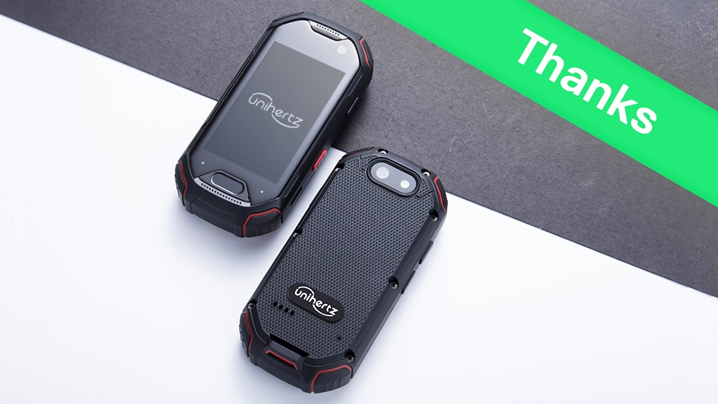 Atom, World`s Smallest 4G Rugged Smartphone by Unihertz — Kickstarter