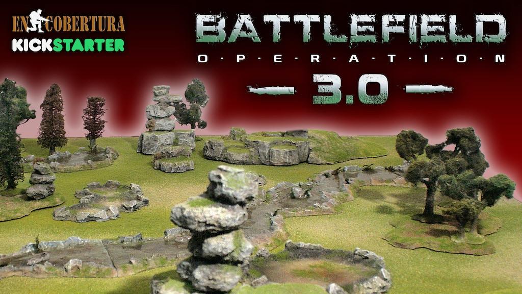 BATTLEFIELD OPERATION 3.0 - Wargame Terrain Scenery project video thumbnail