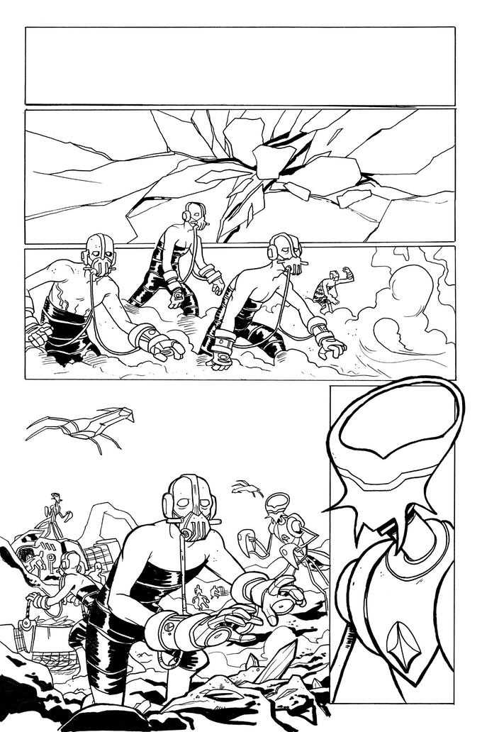 It Was Metal page 1 by Kendall Goode. Original art: $175