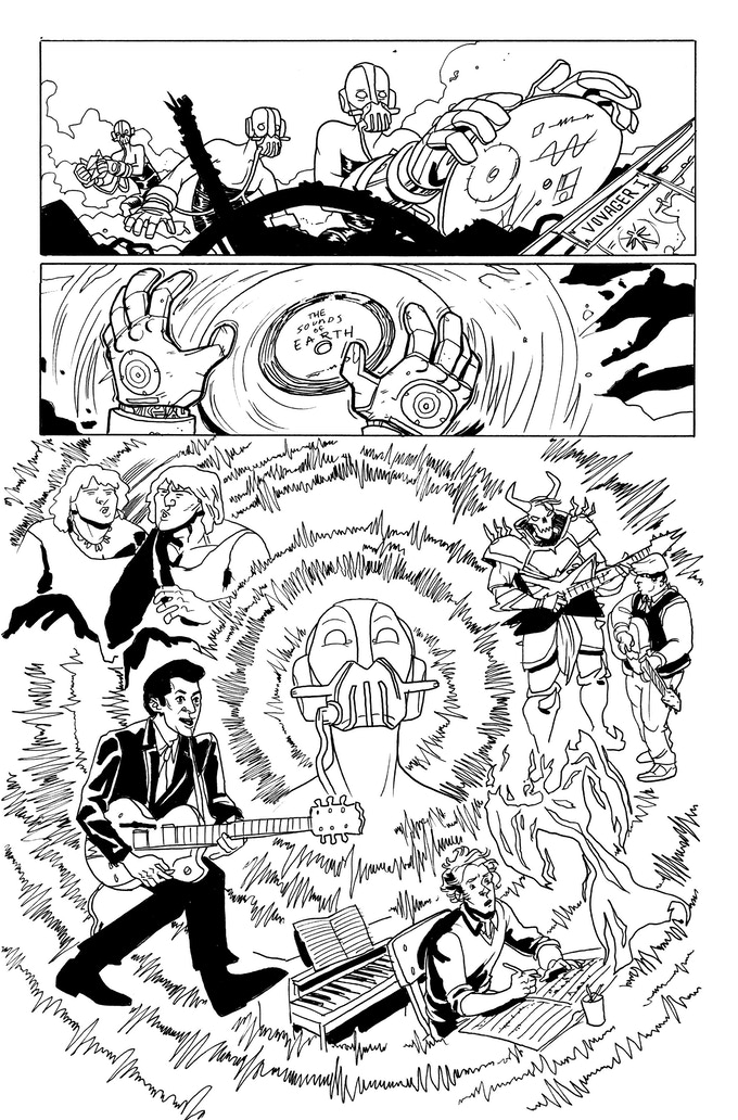 It Was Metal page 2 by Kendall Goode. Original art: $350 (1st Udoroth)