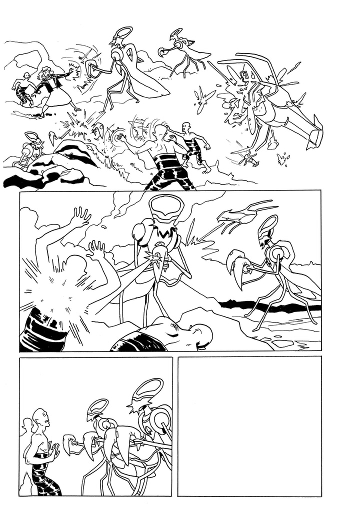It Was Metal page 4 by Kendall Goode. Original art: $150