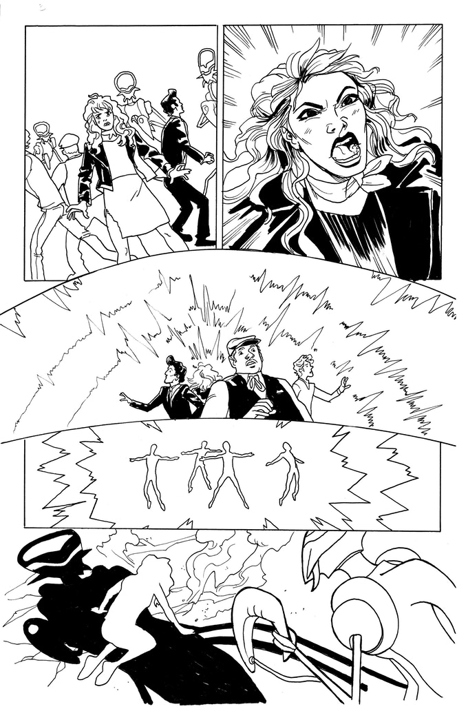 It Was Metal page 5 by Kendall Goode. Original art: $125