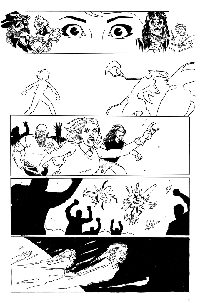 It Was Metal page 6 by Kendall Goode. Original art: $150