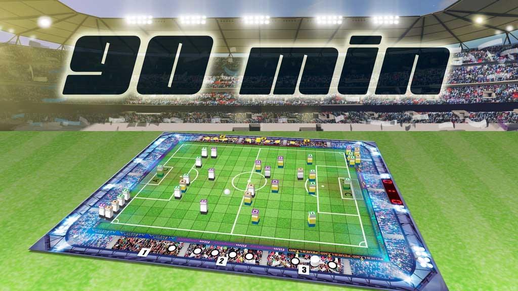 90 min - the realistic soccer game / die Fußballsimulation