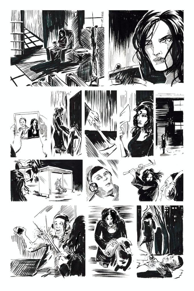 Second Lives page 1 by Joseph Schmalke. Original art: $125