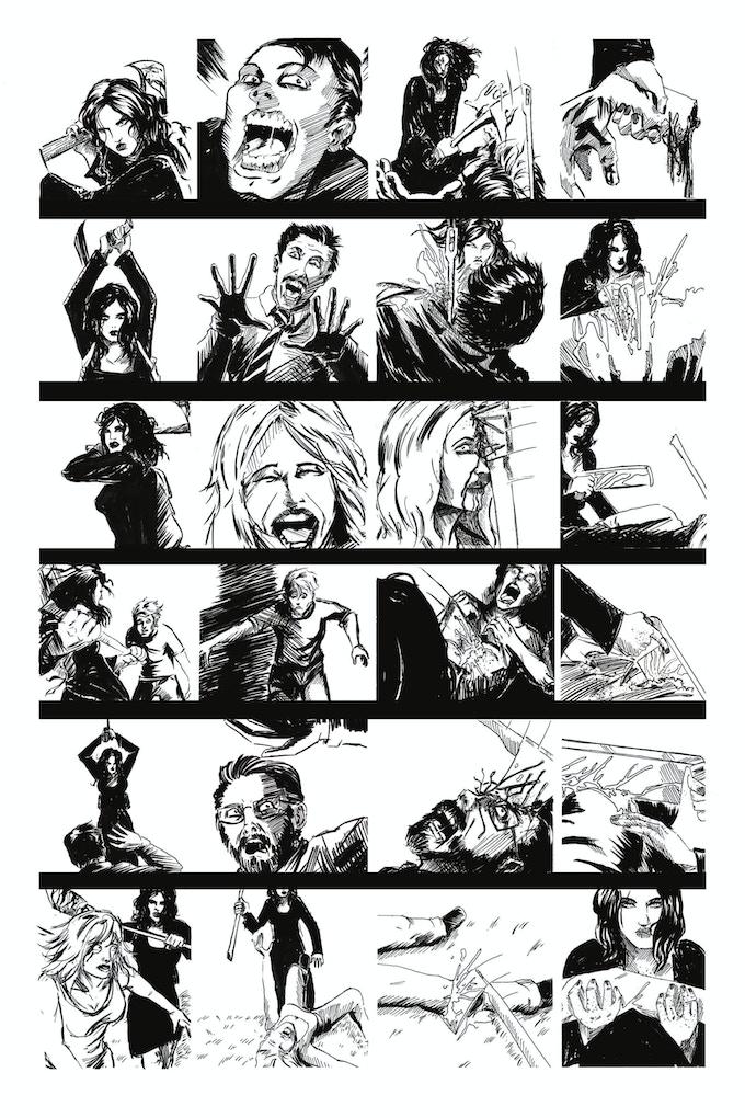 Second Lives page 2 by Joseph Schmalke. Original art: $100