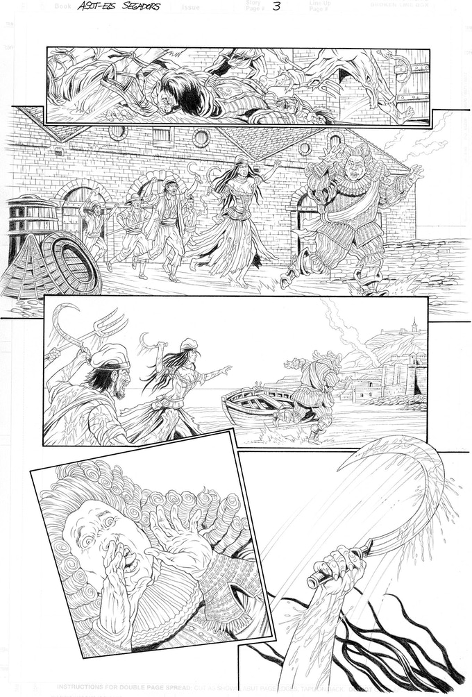 Els Segadors page 3 by Mike Ratera. Proof only. (Original not available.)