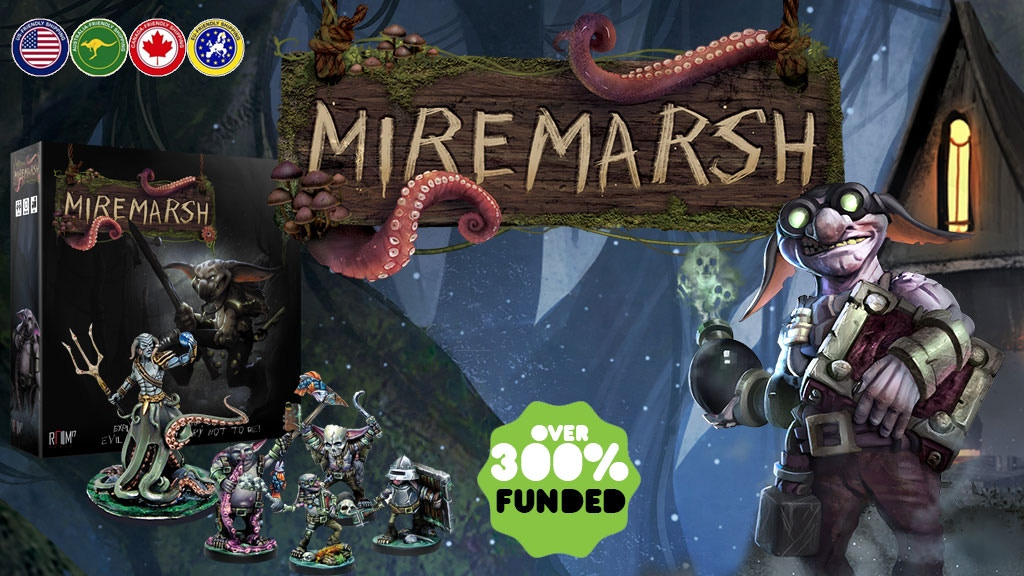 Miremarsh - The Boardgame project video thumbnail