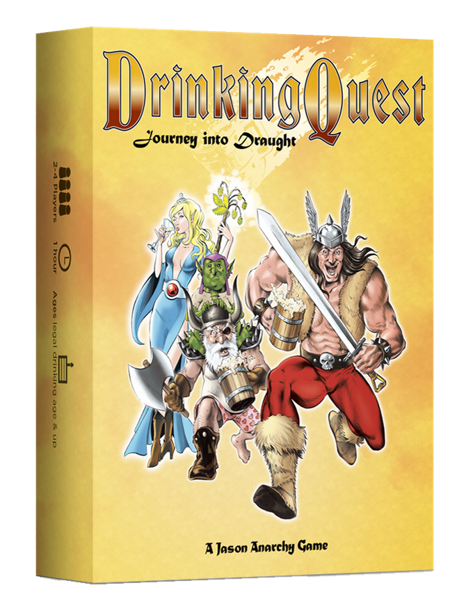 It's like Dungeons & Dragons but it's also a Drinking Game! Click this image for more info!