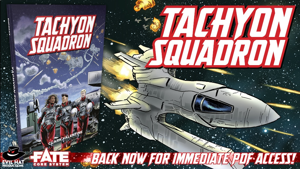Tachyon Squadron (Fate Core RPG) project video thumbnail