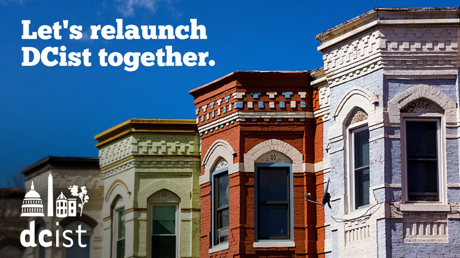 If you're looking to support us, stay tuned! We had a successful campaign and are excited to be a part of WAMU.