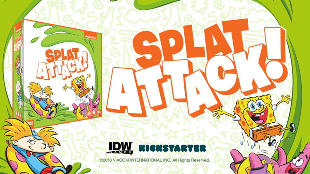 Nickelodeon's Splat Attack! project video thumbnail