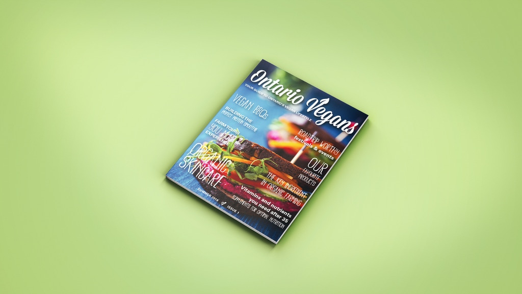 Ontario Vegans Magazine's First Issue project video thumbnail