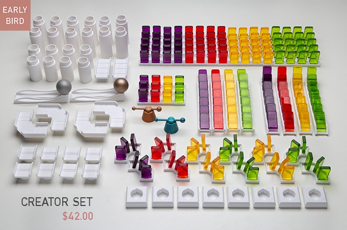 Early Bird - $42 - Total of 272 pieces with 4 Colors (Yellow, Red, Green, Purple)