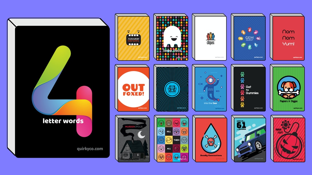 4 Letter Words 15 More Games By Joshua Mason Kickstarter