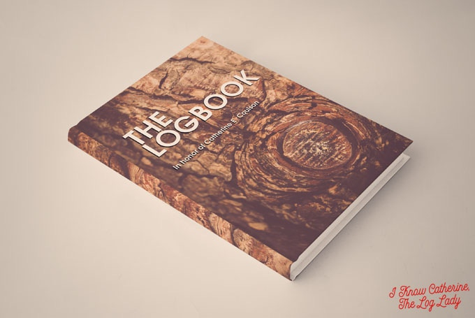 Mockup of The Logbook, a limited edition coffee table book