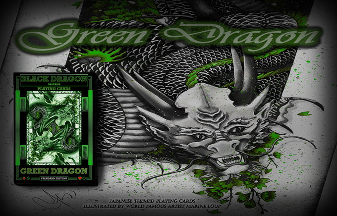 Green Dragon (Standard Edition) available now in this Kickstarter!