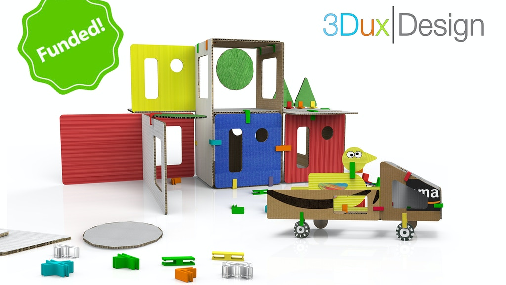 Play-based Construction Toy that blends Creativity with STEM project video thumbnail