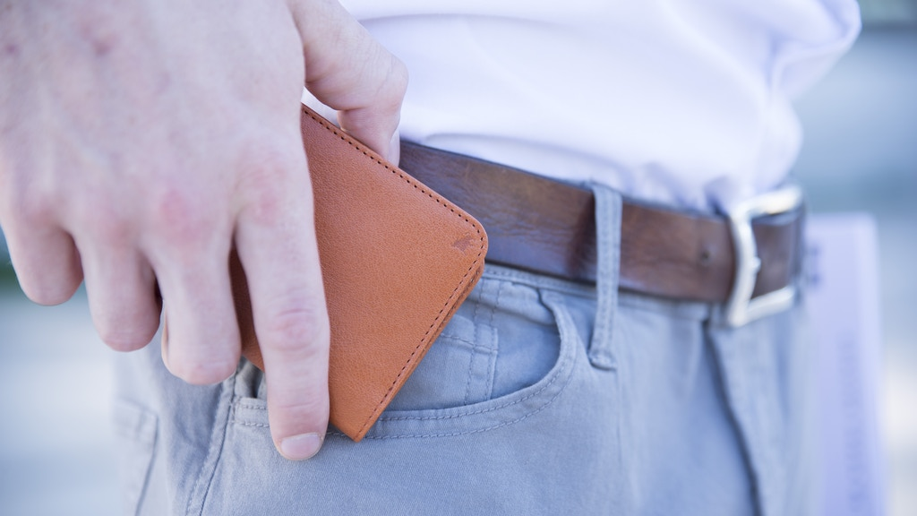 Slim & Smart – The Front Pocket Wallet With RFID-Protection Project-Video-Thumbnail