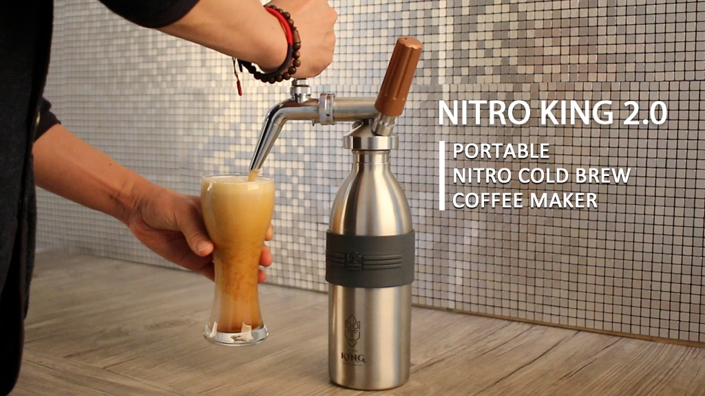 NITRO KING 2.0 ll NITRO COLD BREW COFFEE MAKER