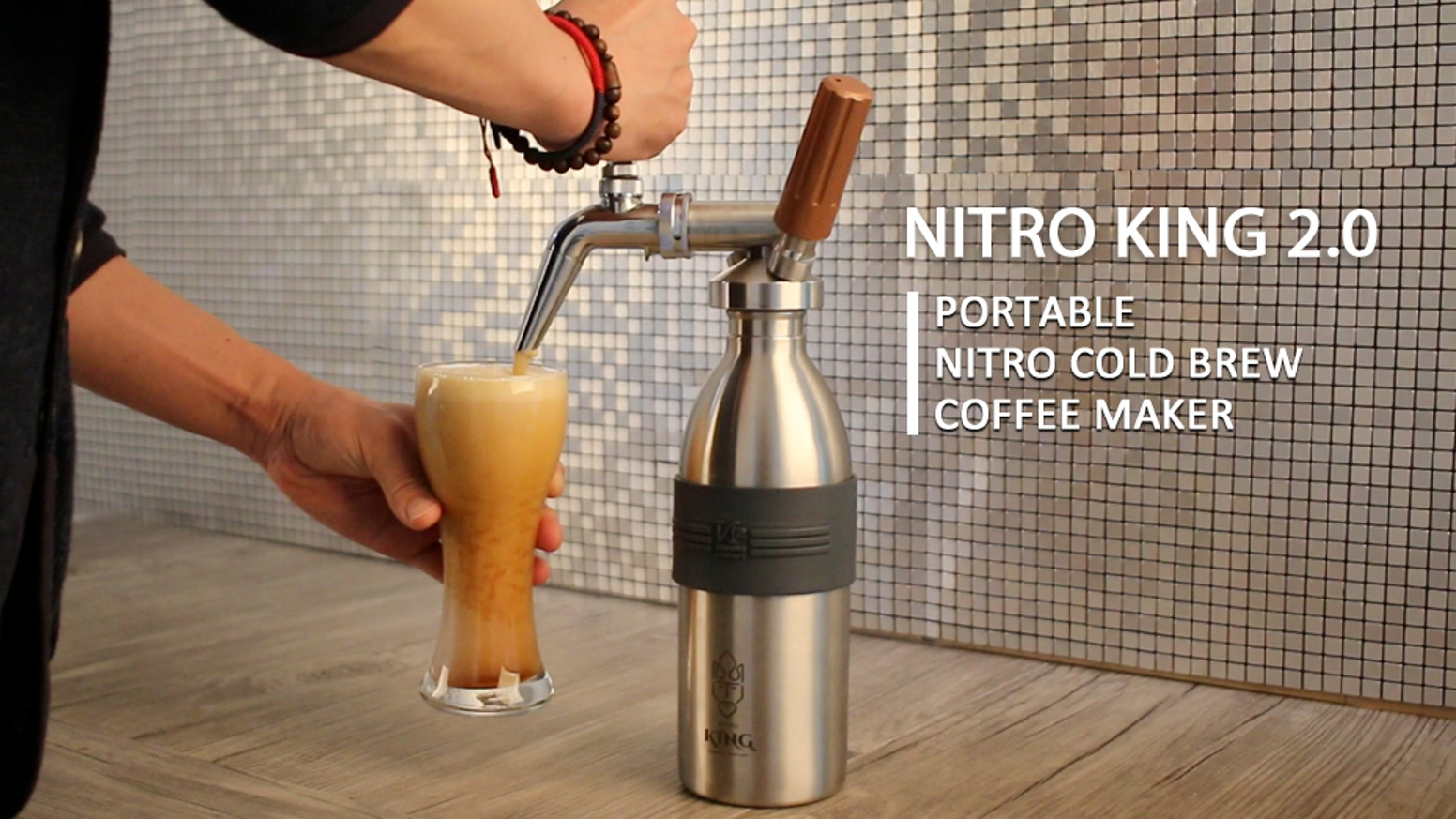 You can make and enjoy a variety of drinks and cold beverages in addition to nitro cold brew coffee by using Nitro King 2.0