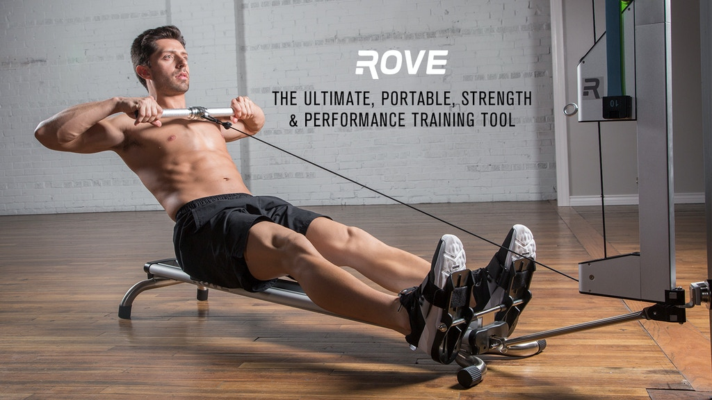 The Rove Gym: Crush full-body workouts in minutes a day project video thumbnail