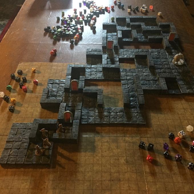 Huge dungeon tile set $99