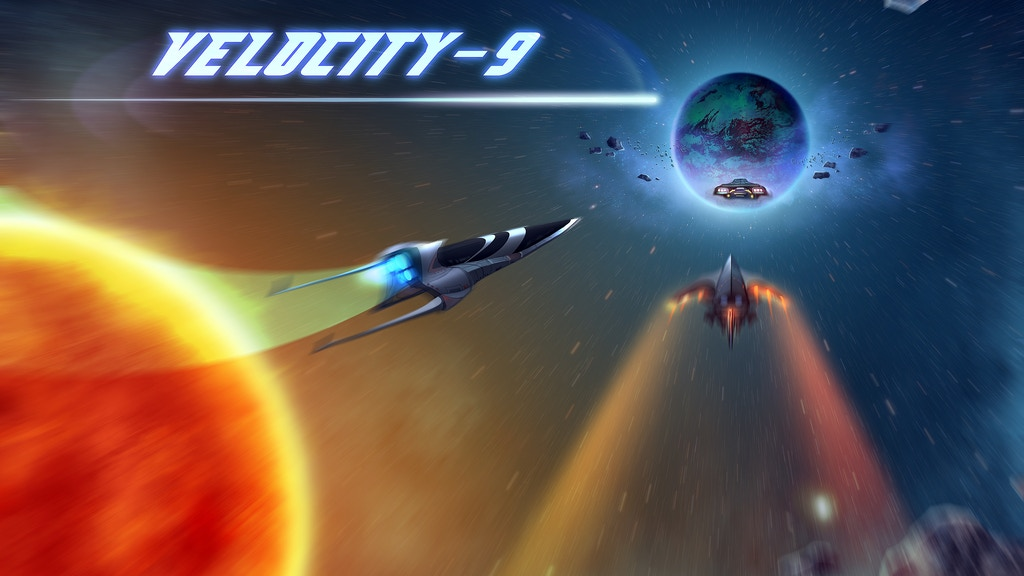 Velocity-9: A Spaceship Racing Game