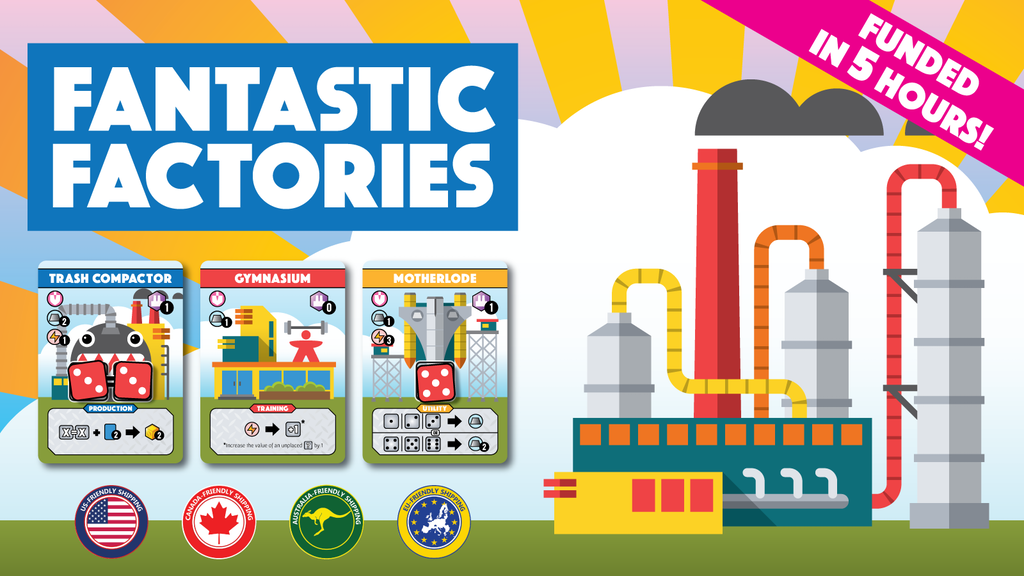 Fantastic Factories: A Dice Placement Engine Building Game